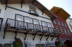 Ciudad del alemán de Leavenworth Imagen de archivo libre de regalías