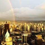 Ciudad del arco iris Foto de archivo libre de regalías