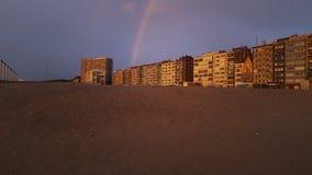 Ciudad del arco iris Fotografía de archivo libre de regalías