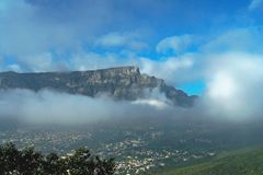Ciudad del Cabo Foto de archivo libre de regalías