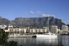 Ciudad del Cabo, línea de costa Imagen de archivo