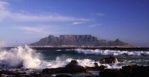 Ciudad del Cabo sa de la montaña del vector Imagenes de archivo