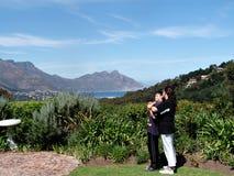 Ciudad del Cabo turística Fotos de archivo libres de regalías