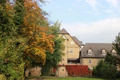 Ciudad del castillo del conde de Melsungen Imagen de archivo