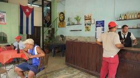 Ciudad del centro de Cuba, La Habana foto de archivo