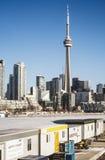 Ciudad del centro de Toronto Foto de archivo libre de regalías