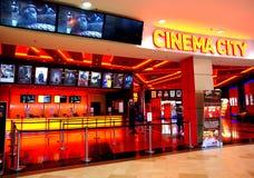 Ciudad del cine en el centro comercial Auschan, Constanta, Rumania de Maritimo Imagenes de archivo