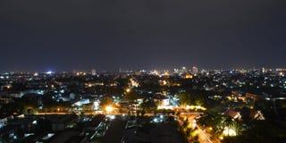 Ciudad del color Foto de archivo libre de regalías