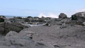 Ciudad del EL Medano en el Océano Atlántico almacen de video