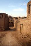 Ciudad del fango, China occidental Imágenes de archivo libres de regalías