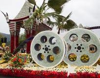 Ciudad del flotador 2011 del desfile del tazón de fuente de Los Ángeles Rose Foto de archivo libre de regalías