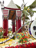Ciudad del flotador 2011 del desfile del tazón de fuente de Los Ángeles Rose Fotografía de archivo libre de regalías