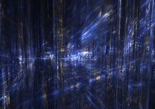 Ciudad del fractal Imagen de archivo libre de regalías