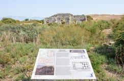 Ciudad del griego clásico de Miletus en Didim, Aydin, Turquía imagenes de archivo