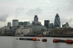 Ciudad del horizonte de Londres Fotografía de archivo