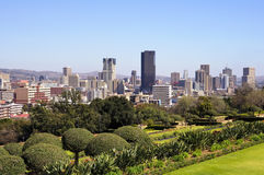 Ciudad del horizonte de Pretoria, Suráfrica Imágenes de archivo libres de regalías