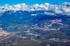 Ciudad del jaspe encima de la montaña de las marmotas Foto de archivo libre de regalías