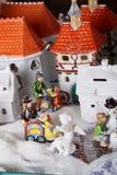 Ciudad del juguete Fotos de archivo libres de regalías