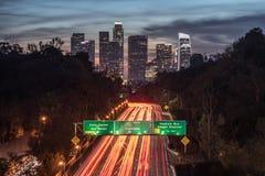Ciudad del LA imagen de archivo