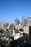 Ciudad del LA en la salida del sol Fotografía de archivo libre de regalías