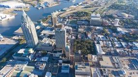 Ciudad del móvil, Alabama imágenes de archivo libres de regalías