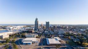 Ciudad del móvil, Alabama foto de archivo