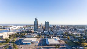 Ciudad del móvil, Alabama fotografía de archivo