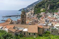 Ciudad del mar desde arriba Imagen de archivo libre de regalías