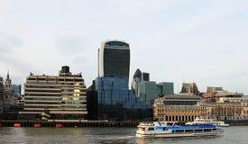 Ciudad del negocio de Londres y de la aria financiera fotografía de archivo libre de regalías