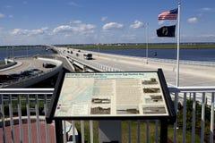 Ciudad del océano del terraplén, New Jersey Foto de archivo libre de regalías
