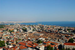 Ciudad del otomano Foto de archivo