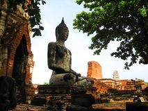 Ciudad del patrimonio mundial de Ayutthaya Fotografía de archivo libre de regalías