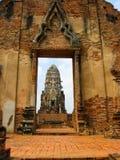 Ciudad del patrimonio mundial de Ayutthaya Foto de archivo