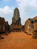 Ciudad del patrimonio mundial de Ayutthaya Imagen de archivo libre de regalías