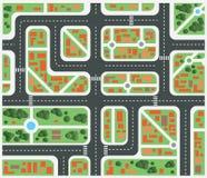Ciudad del plan Imagenes de archivo