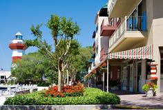 = ciudad del puerto de Hilton Head Foto de archivo
