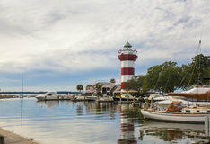 Ciudad del puerto, Hilton Head fotos de archivo libres de regalías