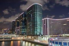 Ciudad del puerto, Hong-Kong Fotografía de archivo libre de regalías