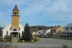 Ciudad del remiendo de Pennsylvania Fotos de archivo libres de regalías