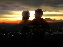Ciudad del romance Foto de archivo