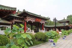 Ciudad del ` s Jinan de China, provincia de Shandong, parque de la primavera del baotu fotografía de archivo