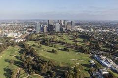 Ciudad del siglo y el club de campo de Los Ángeles imagen de archivo