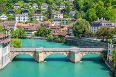 Ciudad del tesoro del mundo - Berna, Suiza Imágenes de archivo libres de regalías