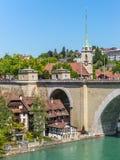 Ciudad del tesoro del mundo - Berna, Suiza Imagen de archivo libre de regalías