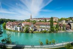 Ciudad del tesoro del mundo - Berna, Suiza Fotografía de archivo libre de regalías