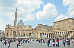 Ciudad del Vaticano Imágenes de archivo libres de regalías
