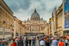 Ciudad del Vaticano Roma Imagen de archivo libre de regalías