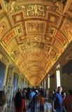 Ciudad del Vaticano, Roma, Italia - 10 de julio de 2017: Museo Boveda del Vaticano Imagenes de archivo