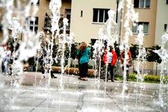 Ciudad del ³ w de Rzeszà y alrededor Fotos de archivo