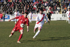 Ciudad derby 2 del fútbol Imágenes de archivo libres de regalías